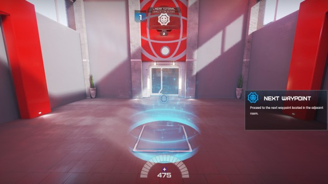 Screenshot: Lawbreakers Tutorial