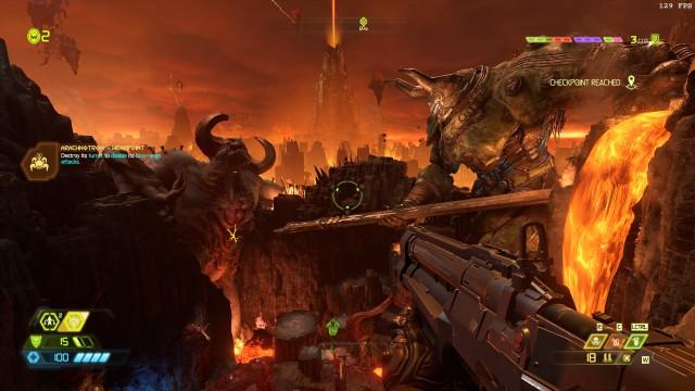Screenshot: Die Szenerie zeugt von gigantischen Schlachten vergangener Tage