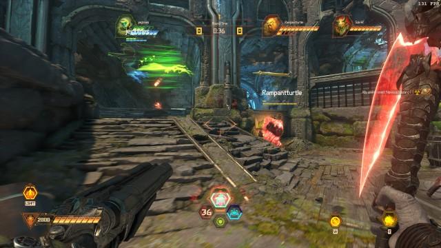 Screenshot: Der Battlemode ist spannend und intensiv, aber auch anstregend