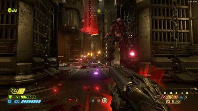 Screenshot: In den Kämpfen zeigt Doom Eternal seine ganze Pracht - bei Technik und Gameplay