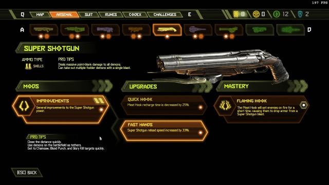 Screenshot: Upgrades gibt es viele, die dazu in verschachtelten Menüs zu finden sind
