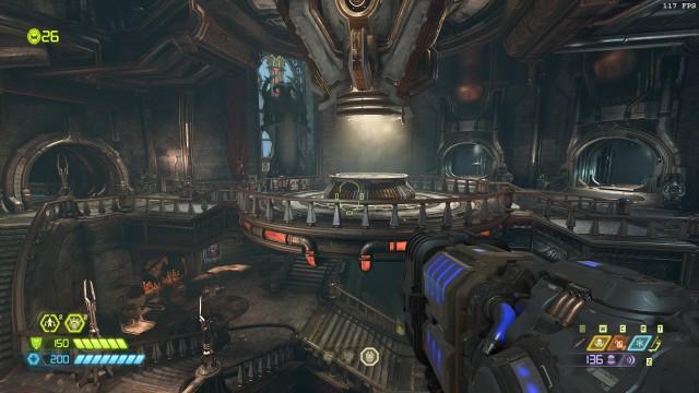 Screenshot: Die Fortress of Doom ist impostant gebaut, aber auch manchmal etwas unpraktisch weil eben sehr groß