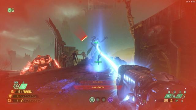 Screenshot: Der neue Spirit-Gegner ist eher so semi neu und kann nur mit dem von mir ungeliebten Microwave-Beam der Plasmagun erledgt werden