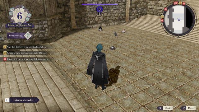 Screenshot: Mit dem DLC kann man während der Erkundung Katze füttern. Manchmal bekommt man auch etwas zurück. Wirklich. Ist also nicht realistisch...