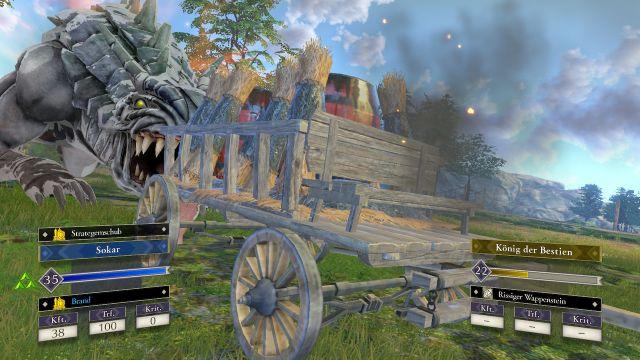 Screenshot: Strategeme sind vor allem gegen die großen Monster effektiv