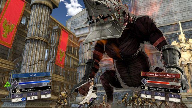Screenshot: Die riesigen Monster sind neu, aber leider keine so große Bereicherung