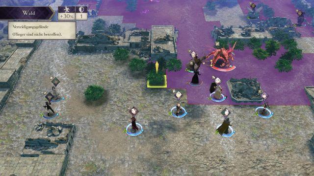 Screenshot: Die Taktikgefechte sind ein wichtiger Bestandteil des Spiels, es fehlt aber an Abwechslung