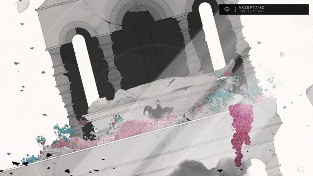 Screenshot: Das hinter der schönen Fassade auch noch eine Story steckt wurde mir erst kurz vor Schluss wieder bewusst