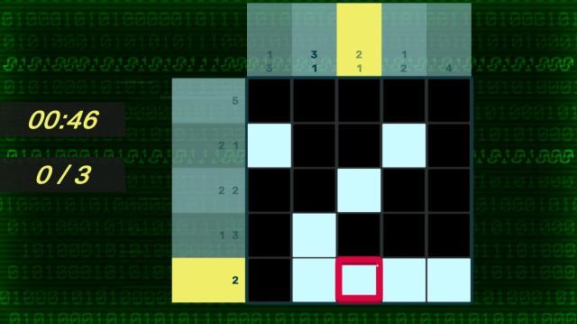 Screenshot: Hacking ist einzige Abwechslung im Spiel