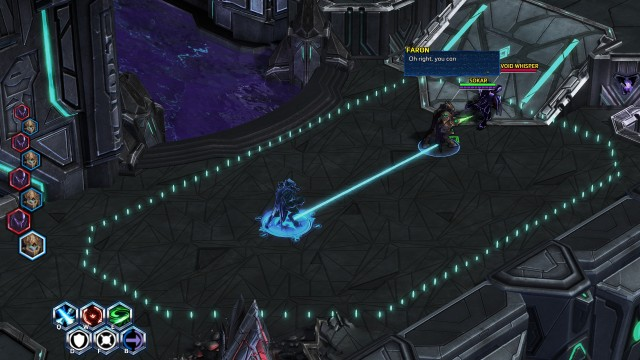Screenshot: StarCraft 2: Ark Star