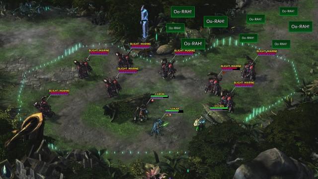 Screenshot: Meist ist man im Kampf in der Unterzahl