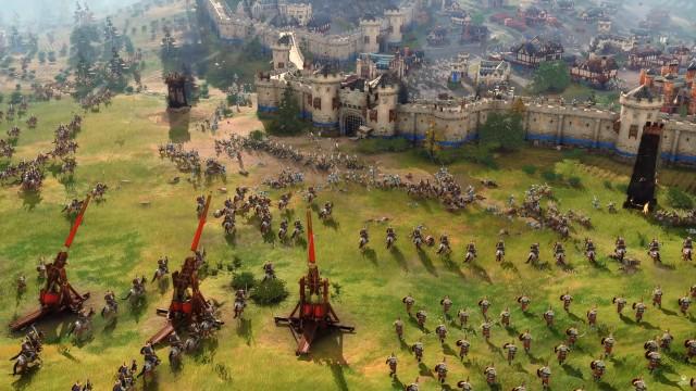 Screenshot: Age of Empires 4 (Capture aus dem Gameplay Reveal Trailer)