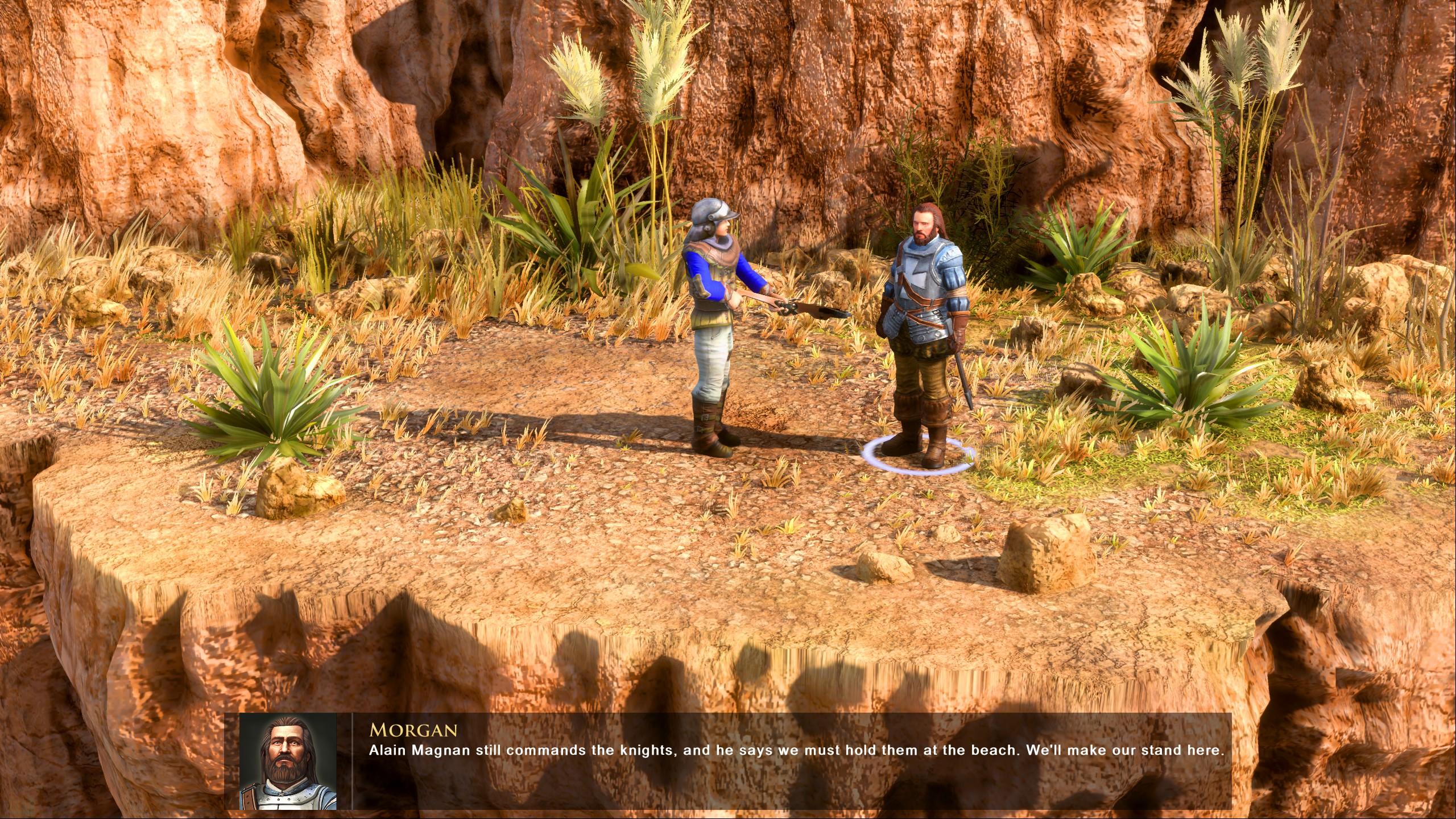 Screenshot: In den Zwischensequenzen in Spielgrafik werden nun auch detailliertere Modelle verwendet