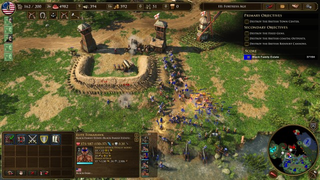 Screenshot: Age of Empires 3 Definitive Edition