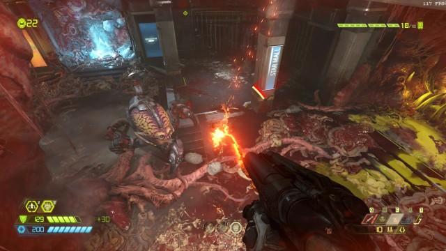 Screenshot: Die Arenakämpfe sind das Herzstück von Doom Eternal