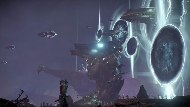 Screenshot: Zum Ende bekommt der Doom Slayer Unterstützung von den verbleibenden Night Sentinels