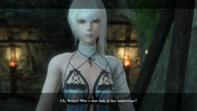 Screenshot: Gleich zu beginn stellt der Protagonist die richtigen Fragen...