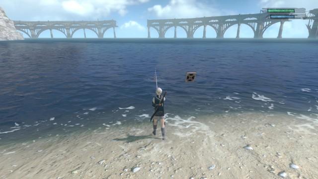 Screenshot: Ein Minispiel um zu Fischen braucht wohl jedes Spiel aus Japan
