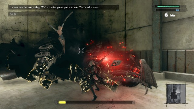 Screenshot: Kaine und Emil kämpfen auch mit, aber nur unwesentlich