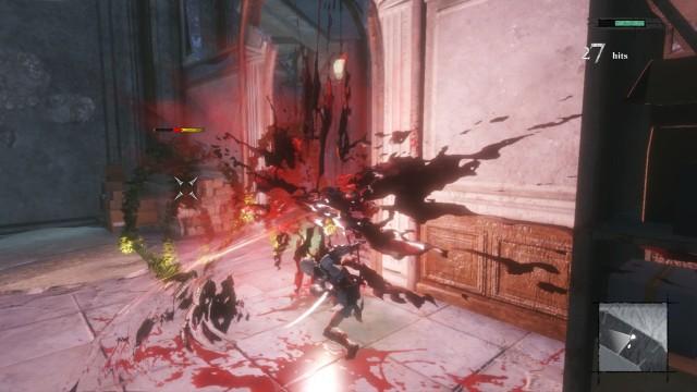 Screenshot: Die Effekt in den Kämpfen sind ansehnlich, aber auf die Wagenladung Motion Blur hätte ich verzichten können