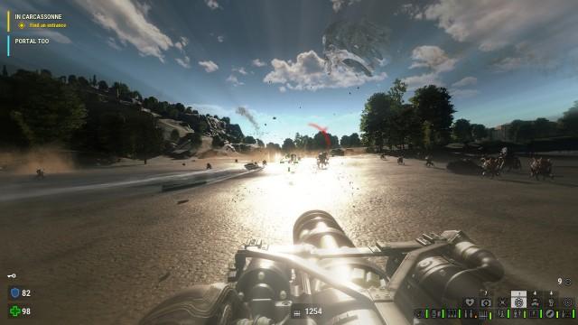 Screenshot: Meist statisch, kann die Beleuchtung aber auch sehr ansehnliche Lichtstimmungen erzeugen