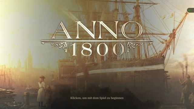 Titelbild Anno 1800