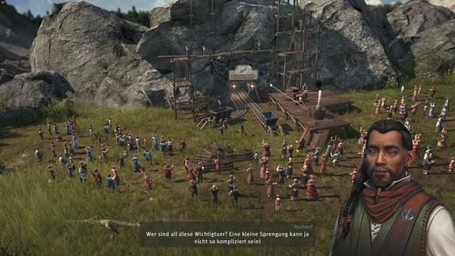 Screenshot: Die Kampagne hat mit ihren kleinen Zwischensequenzen sogar sowas wie Inszenierung