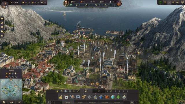 Screenshot: Der Schwerindustrie sieht man ihre Luftverschmutzung an