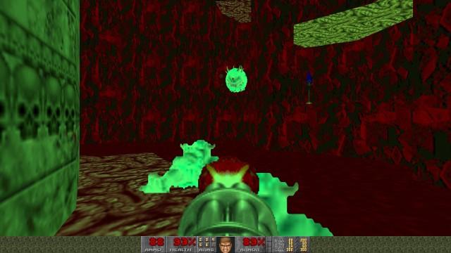 Screenshot: In besonders dunklen Level ist die Nachtsicht nötig