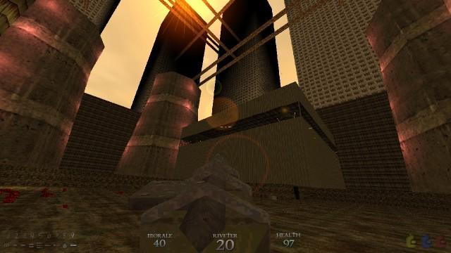 Screenshot: Die Levelarchitektur kann überzeugen.