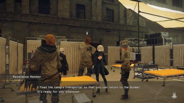 Screenshot: Die NPCs sehen alle sehr ähnlich und wenig detailliert aus