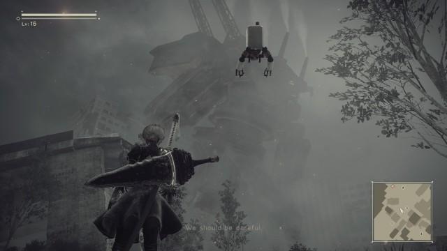 Screenshot: Die wenigen permanenten Veränderung im Spiel verändern die Atmosphäre deutlich