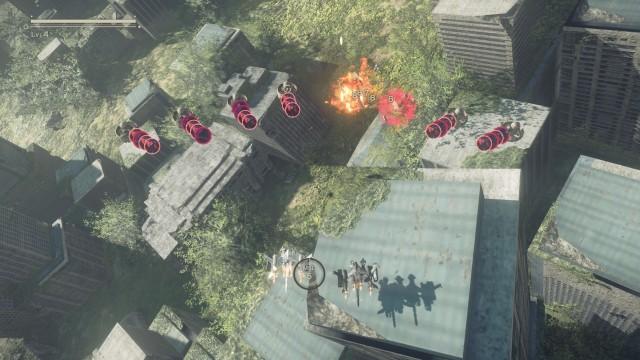 Screenshot: In den Flight Suits wird das Spiel zum waschechten Shmup