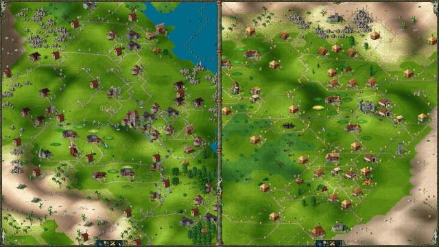 Die Siedler 2 im Zweispielermodus