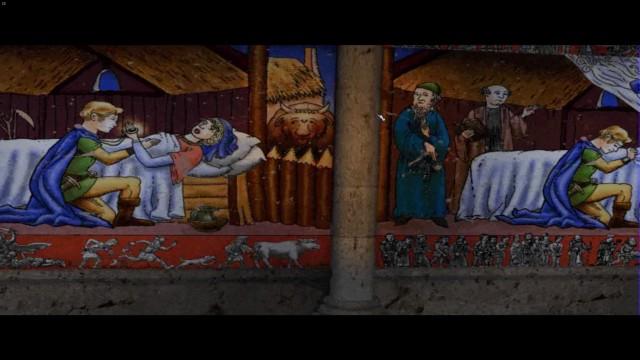 Zwischensequenzen in Die Siedler 5 erinnern an mittelalterliche Gemälde