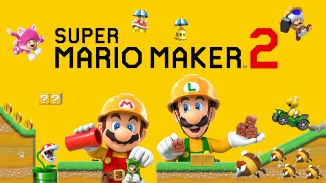 Super Mario Maker 2 Titel
