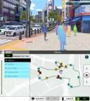 Screenshot: Der Distrikt Shibuya in Tokio mit seiner bekannten Kreuzung ist Knotenpunkt der Spielwelt