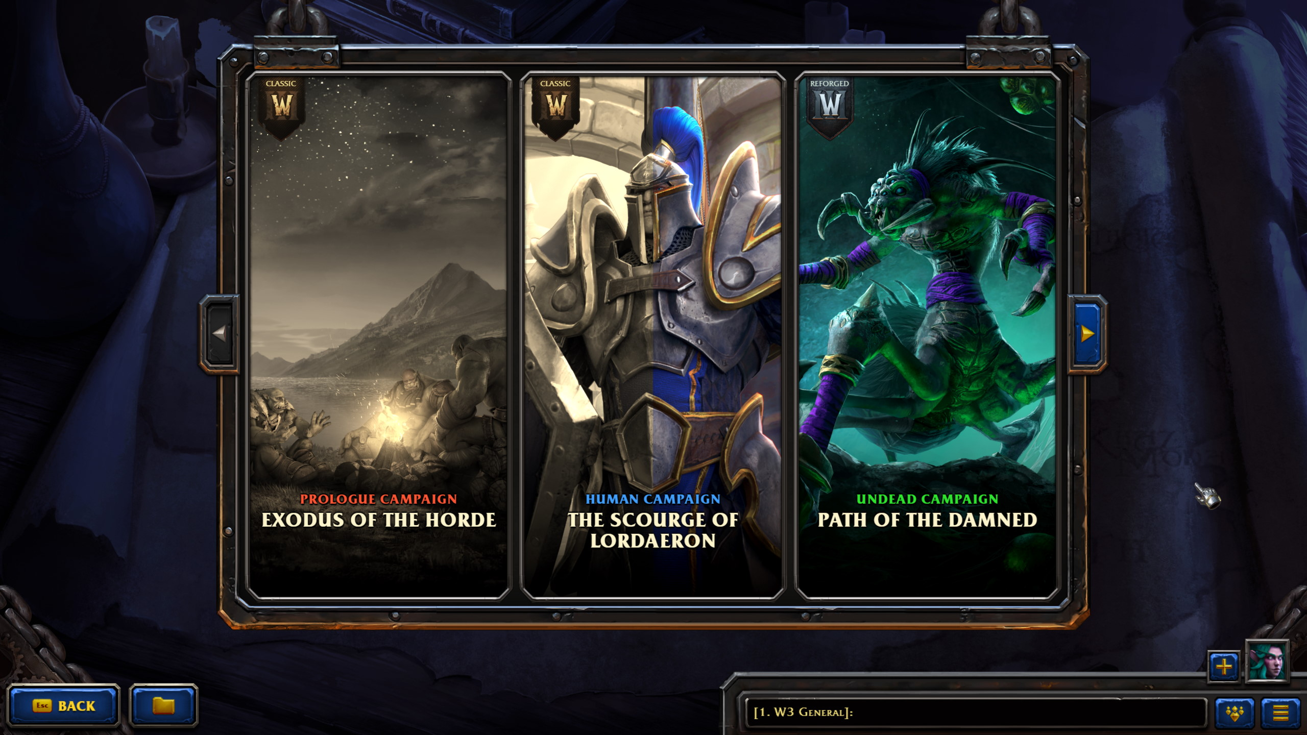Warcraft 3 Reforged Sync Campagin Progress Between Classic And