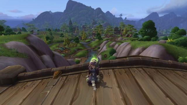 Der Ausblick in das malerische Stormsong Valley