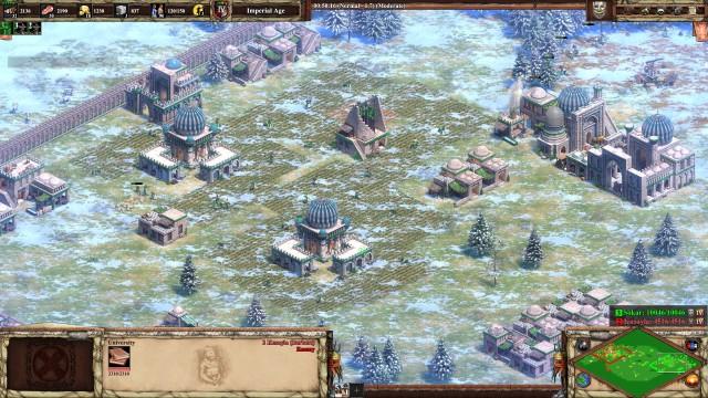 Screenshot: Die neuen Zivilisationen haben ein neue Gebäudegrafiken bekommen