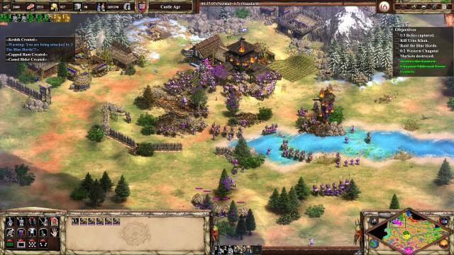 Screenshot: Große Schlachten gzeichnen Age of Empires 2 aus