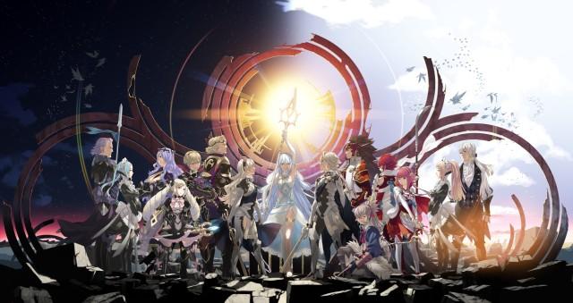 Screenshot: Fire Emblem Fates - Offizielles Bild der wichtigsten Charaktere