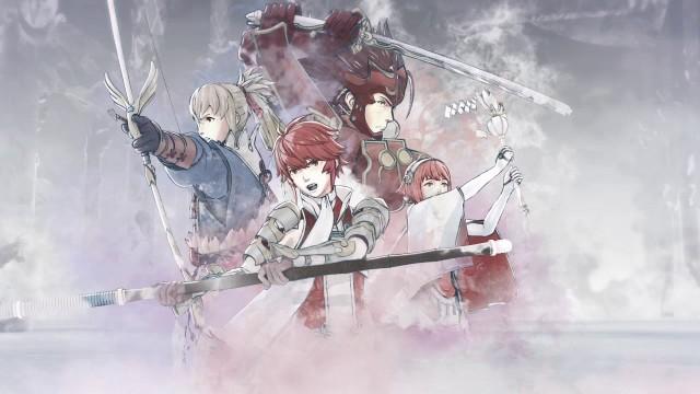 Screenshot: Königsfamilie von Hoshido