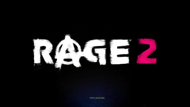 Screenshot: Rage 2 Titel