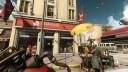 Screenshot: Eine kurze Sequenz vor der Roswell-Mission bietet einen kleinen Einblick in den Alltag des vom Regime eroberten Amerika