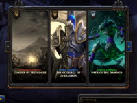 Warcraft 3 Reforged Campaign Menu